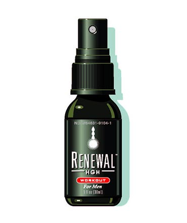 ALWAYS YOUNG Renewal HGH Workout за мъже 180 Sprays