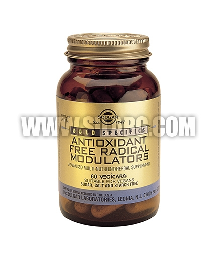 SOLGAR Antioxidant Free Radical Modulators 60 Caps.