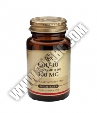 SOLGAR Coenzyme Co-Q10 100mg. / 30 Soft.
