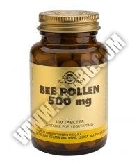 SOLGAR Bee Pollen 500 mg. / 100 Tabs.