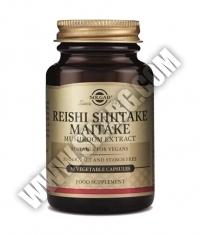 SOLGAR Reishi Shiitake Maitake Mushroom Extract 50 Caps.