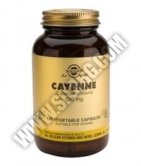 SOLGAR Cayenne, F.P. 520 mg. / 100 Caps.