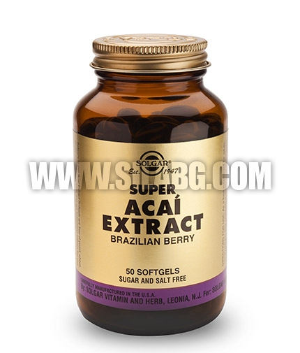 SOLGAR Super Acai Extract / 50 Soft.