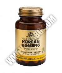 SOLGAR Korean Ginseng, F.P. 50 Caps.