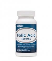 GNC Folic Acid 400 mcg. / 100 Tabs.