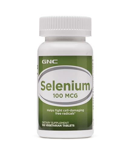 GNC Selenium 100 mcg. / 100 Tabs.