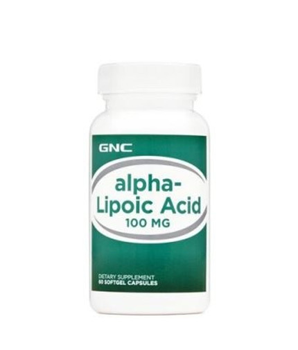 GNC Alpha Lipoic Acid 100 mg. / 60 Caps.