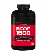 GNC Branched Chain Amino Acids 1800 mg. / 120 Caps.