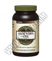 GNC Natural Brand Aloe Vera Gel 90 Caps.