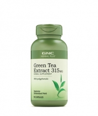 GNC Herbal Plus Green Tea Extract 315 mg. / 90 Caps.