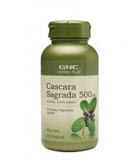 GNC Herbal Plus Cascara Sagrada 500 mg. / 100 Caps.