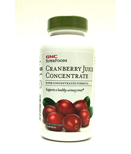 GNC Natural Brand Cranberry Juice Concentrate 500 mg. / 90 Caps.