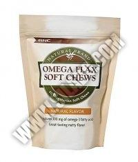 GNC Omega Flax Soft Chews / 60 Chews