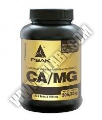 PEAK CA/MG (Calcium / Magnesium) 275 Tabs.