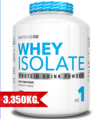 NUTRICORE Whey Isolate / 3350 gr.