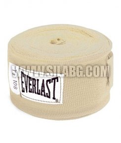 "everlast 108"" Cotton Handwraps /White/"