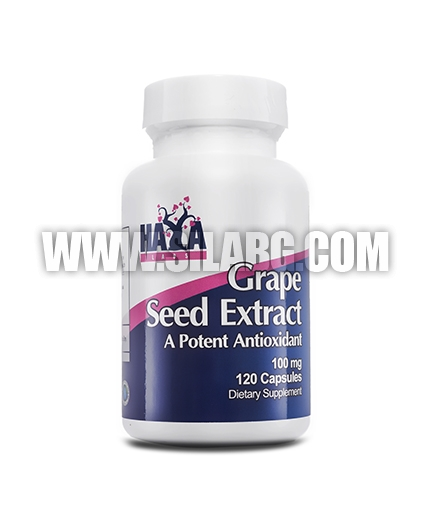 HAYA LABS Grapeseed Extract 100mg. / 120 Vcaps.