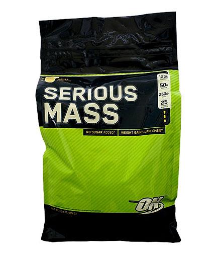 OPTIMUM NUTRITION Serious Mass 12 lbs. 5.450