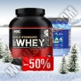 PROMO STACK ON 100% Whey Gold Standard 5lb + MEX BCAA 20k 500g 50% OFF