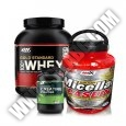 PROMO STACK ON 100% Whey Gold Standard / ON Creatine Powder / Amix Micellar Caseine