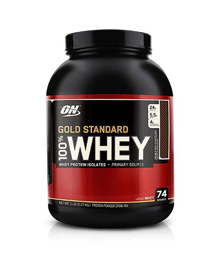 OPTIMUM NUTRITION 100% Whey Gold Standard 2.272